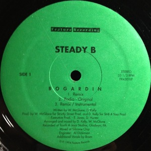 STEADY B - BOGARDIN / LET IT GO