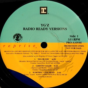 YG'Z - RADIO READY VERSIONS
