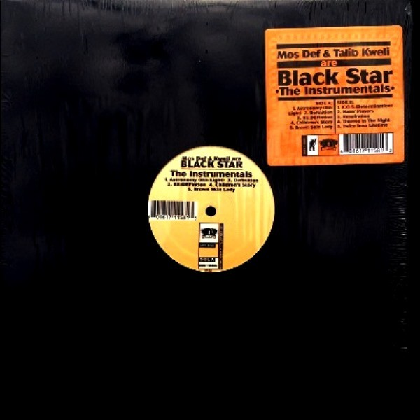 MOS DEF & KWELI ARE BLACK STAR - THE INSTRUMENTALS