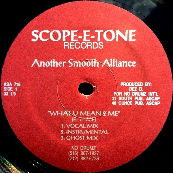 ANOTHER SMOOTH ALLIANCE - WHAT U MEAN 2 ME