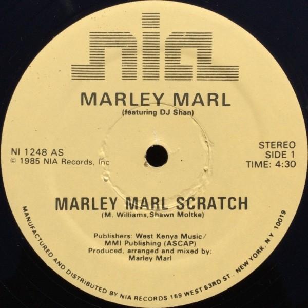 MARLEY MARL feat. MC SHAN - MARLEY MARL SCRATCH