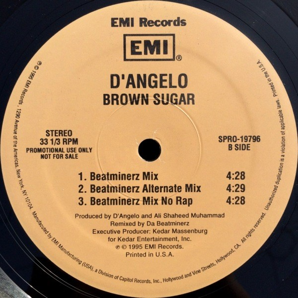 D'ANGELO - BROWN SUGAR (BEATMINERZ MIX)