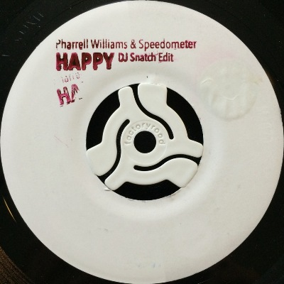 PHARRELL WILLIAMS & SPEEDOMETER - HAPPY (DJ SNATCH EDIT)
