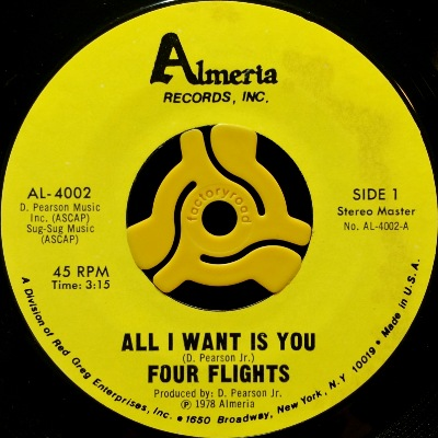 FOUR FLIGHTS - ALL I WANT IS YOU