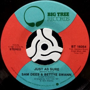 SAM DEES & BETTYE SWANN - STORYBOOK CHILDREN / JUST AS SURE