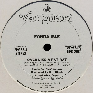 FONDA RAE - OVER LIKE A FAT RAT (PROMO)