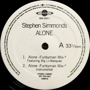 STEPHEN SIMMONDS - ALONE (FUNKYMAN MIX)